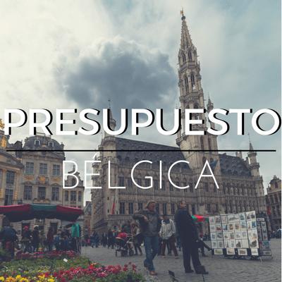 PRESUPUESTO BÉLGICA