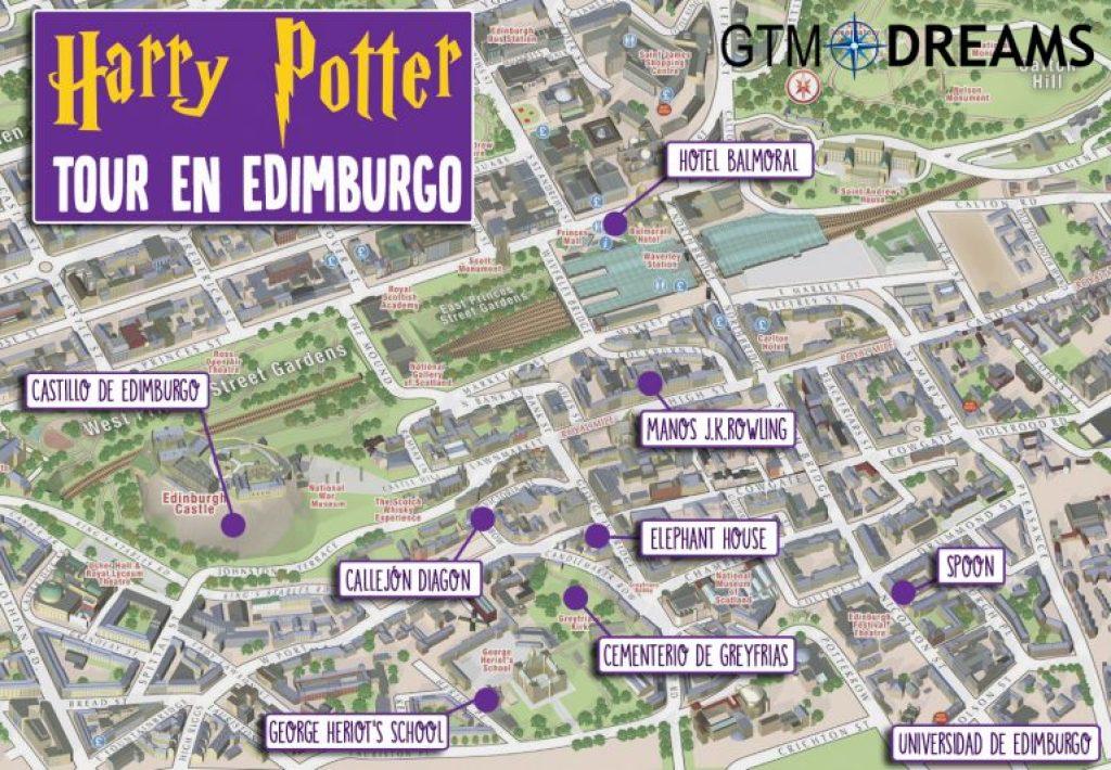 Harry Potter en Edimburgo