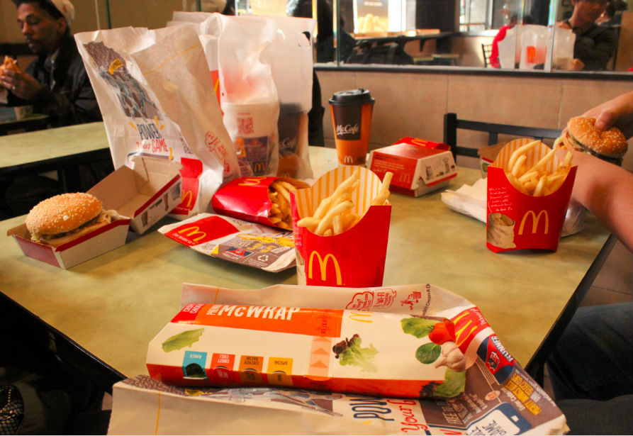 麦当劳中餐