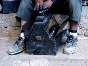 Lustrador de zapatos - Guatemala