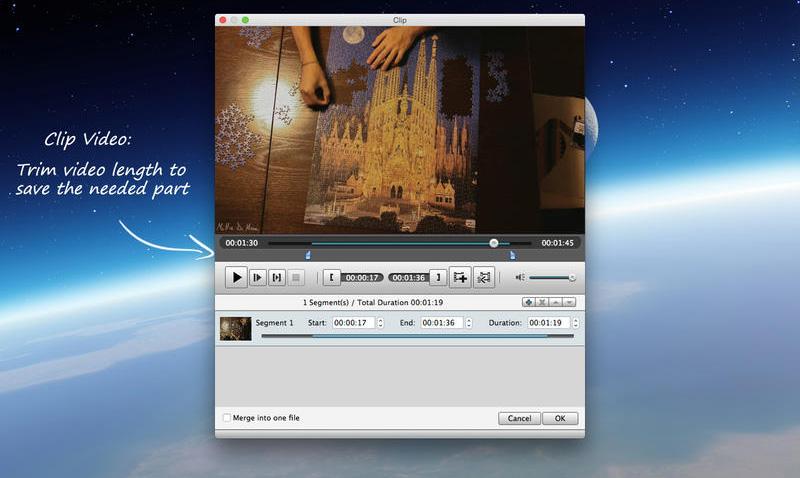 Descarga gratis 4K Video Converter para tu Mac