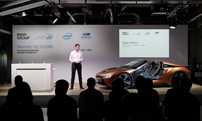 BMW se asocia a Intel para competir contra Tesla