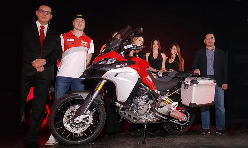 Presentaron la nueva Ducati Multistrada 1200 Enduro