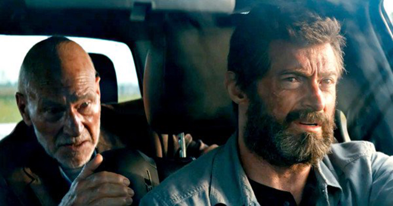 Logan y el Profesor X