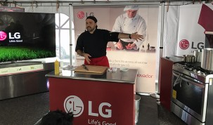 LG presentó en Guatemala su nueva línea de estufas