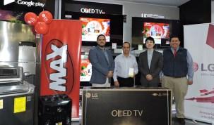 Tiendas MAX y LG Electronics entregaron valiosos premios