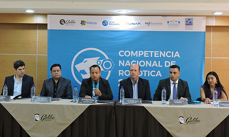 """Universidad Galileo anuncia """"Competencia Nacional de Robótica"""""""