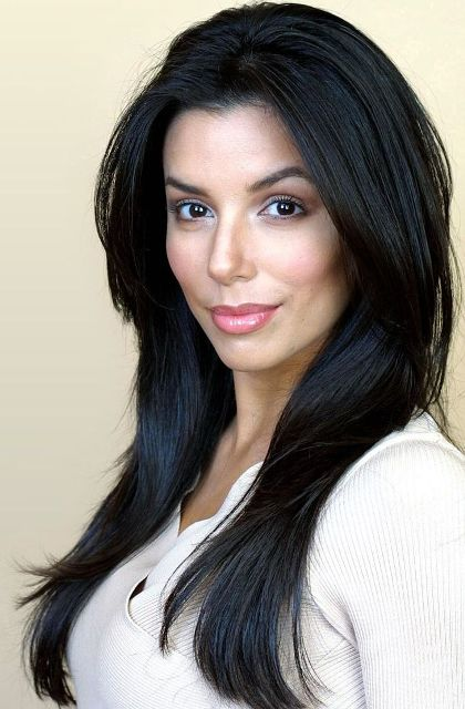 Eva Longoria With Easy And Beautiful Long Hairstyle