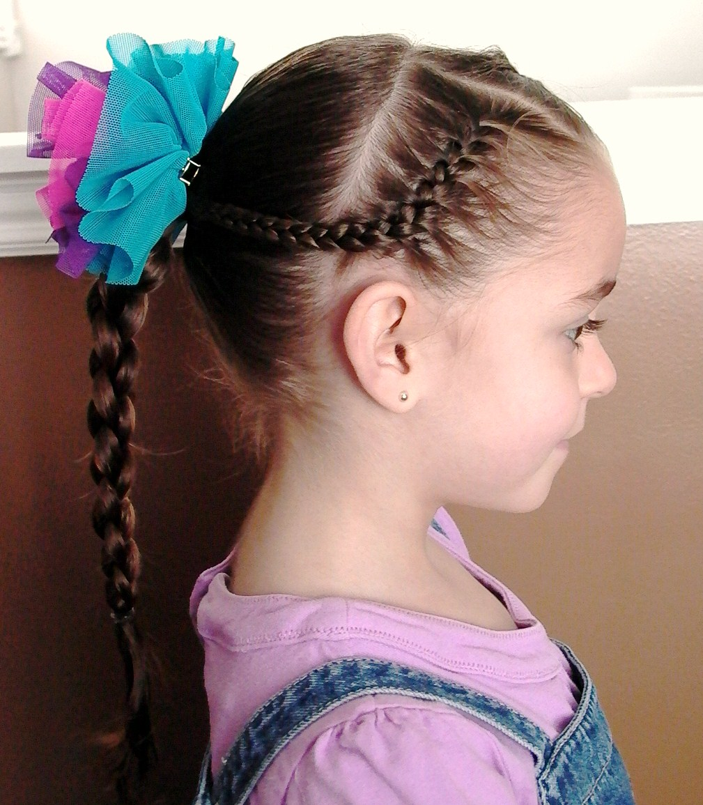 Braid Little Girl Hair Style Latest Hair Styles Cute