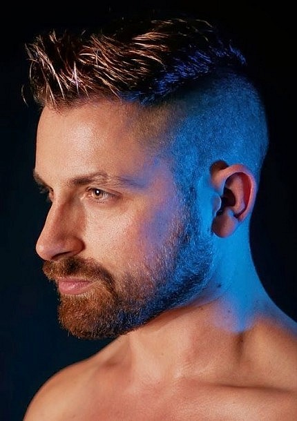 Cool And Modern Men Haircut For Short Shaved Hair Latest