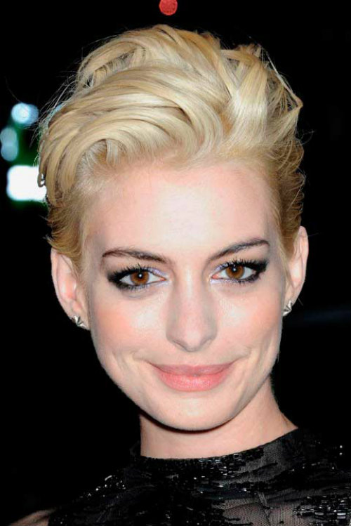 Short Blonde Pixie Cut For Girl With Oval Face Latest