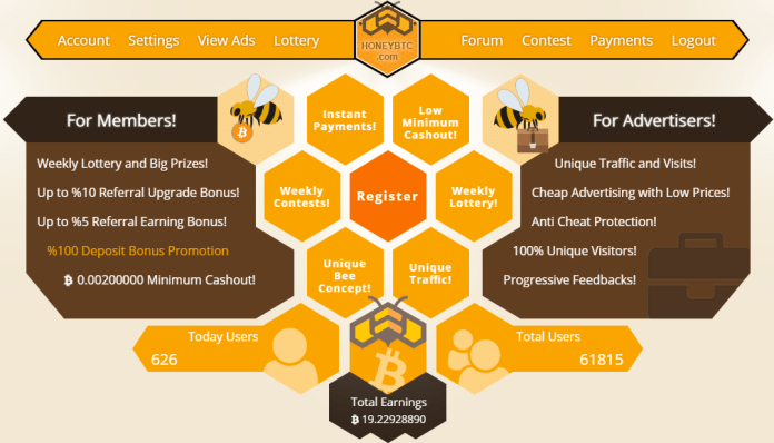 Honey BTC bot