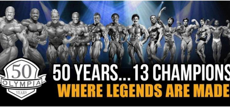 MR. OLYMPIA WINNERS