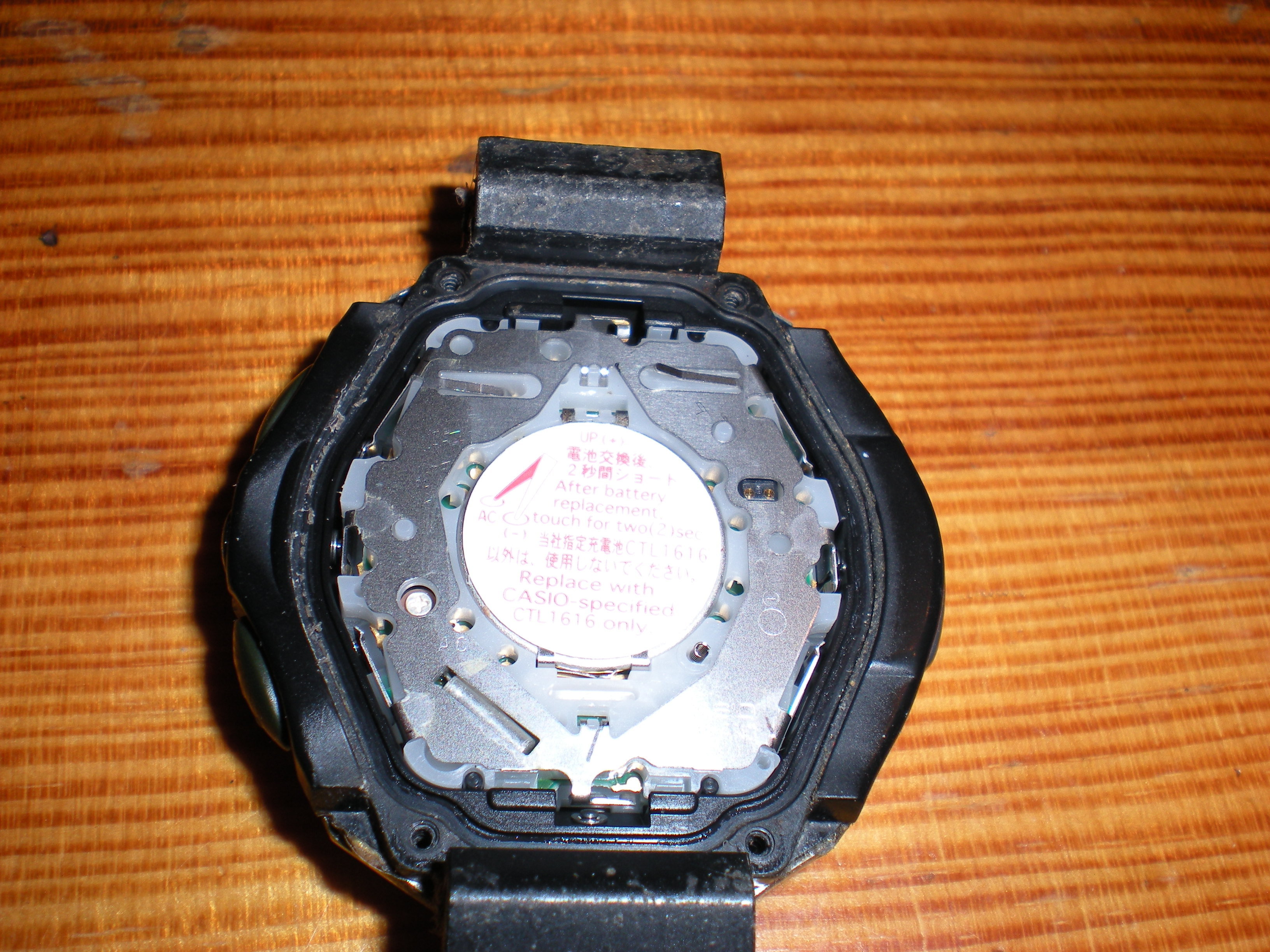How To Change The Battery On A Casio Protrek Solar Powered Watch Prg 280 2 Original Gtousers Blog
