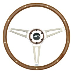 32-4247 GT3 Retro Wheel, Cobra Style, Wood - GT Performance