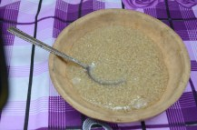 Mazamora de Quinoa con manzana