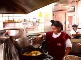 Cooking at el Caucau II
