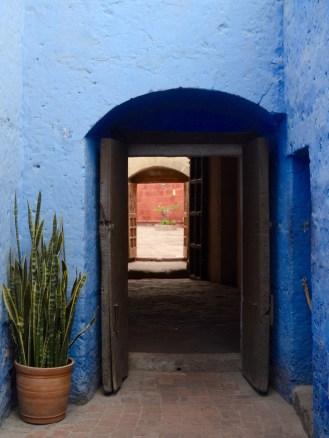 Colors of Convent Santa Catalina, Arequipa