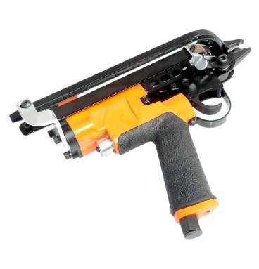 Pneumatic hog ring tool
