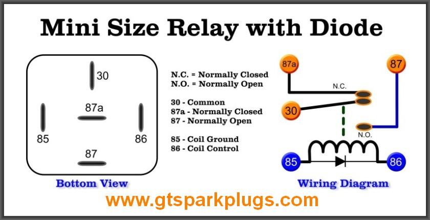 5 Pin 12v Relay Diagram. Parts. Wiring Diagram Images