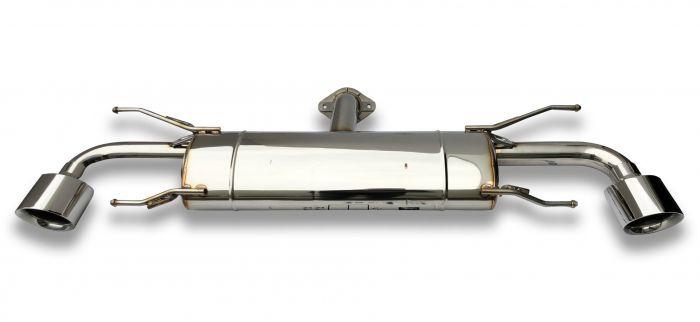 axle back exhaust mazda cx 3 type kb 2015