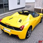 Photo Of The Day Yellow Ferrari 458 Spider By Willem De Zeeuw Gtspirit