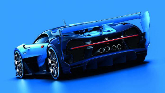Bugatti Vision GranTurismo rear