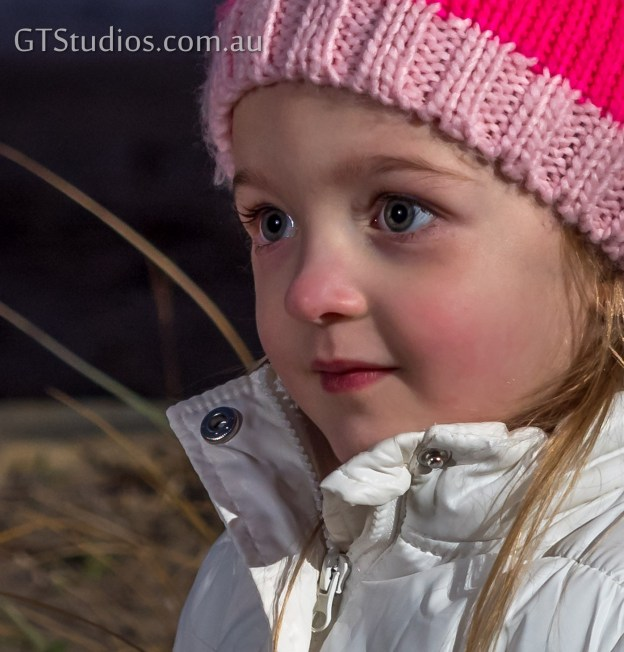 Rosie cheeks on a cold winter day