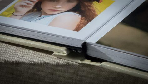 Lay flat binding - a great feature of this album