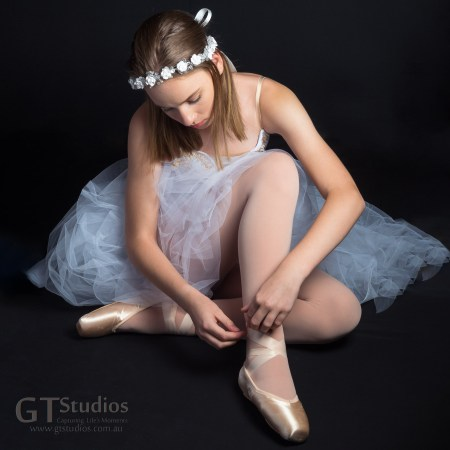 To celebrate a milestone in a teen or tween's life, it's a privilege for GT Studios to be a part of this unique experience - such as this ballet dancer's graduation to pointe shoes.