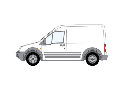 ford transit connect rhino roof bars