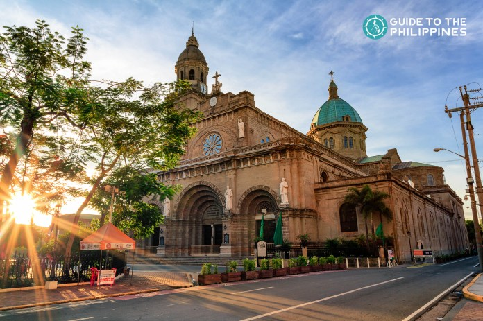Manila Cathedral is the religious center of the Archdiocese of Manila