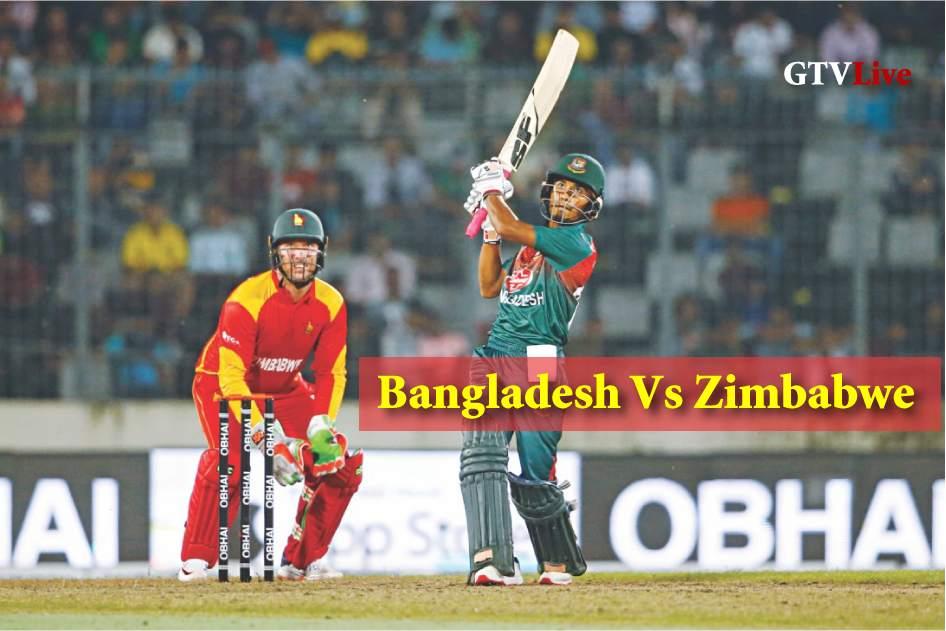 Bangladesh Vs Zimbabwe Schedule