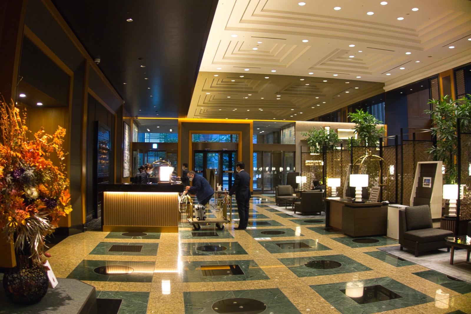 ホテル ザ セレスティン東京芝  ロビー