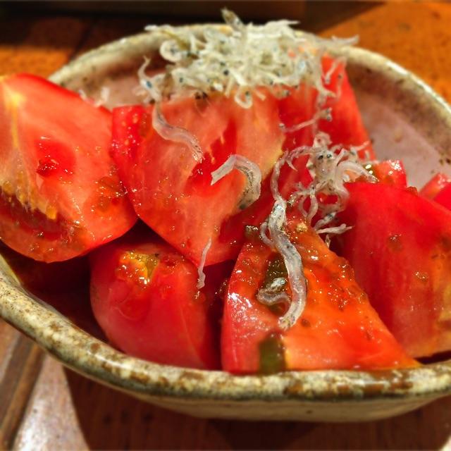 トマトじゃこサラダ