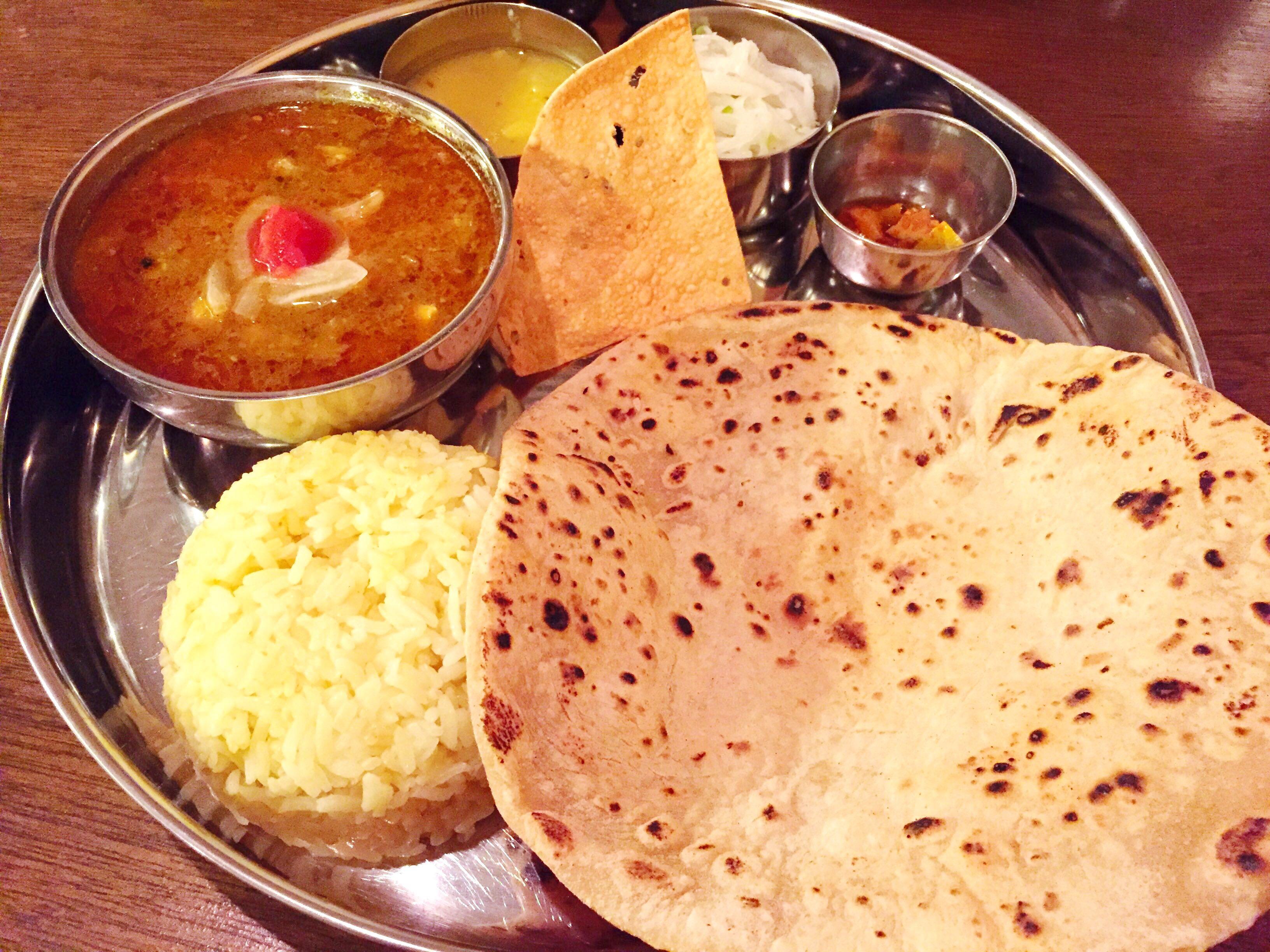 インド食堂ディナーセット