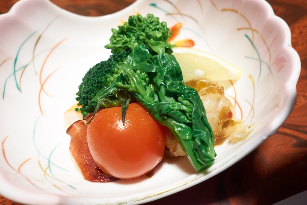 平山温泉旅館・家族湯いまむら夕食