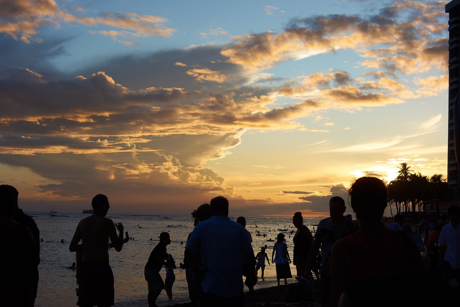 Waikiki Beach Sunset 1