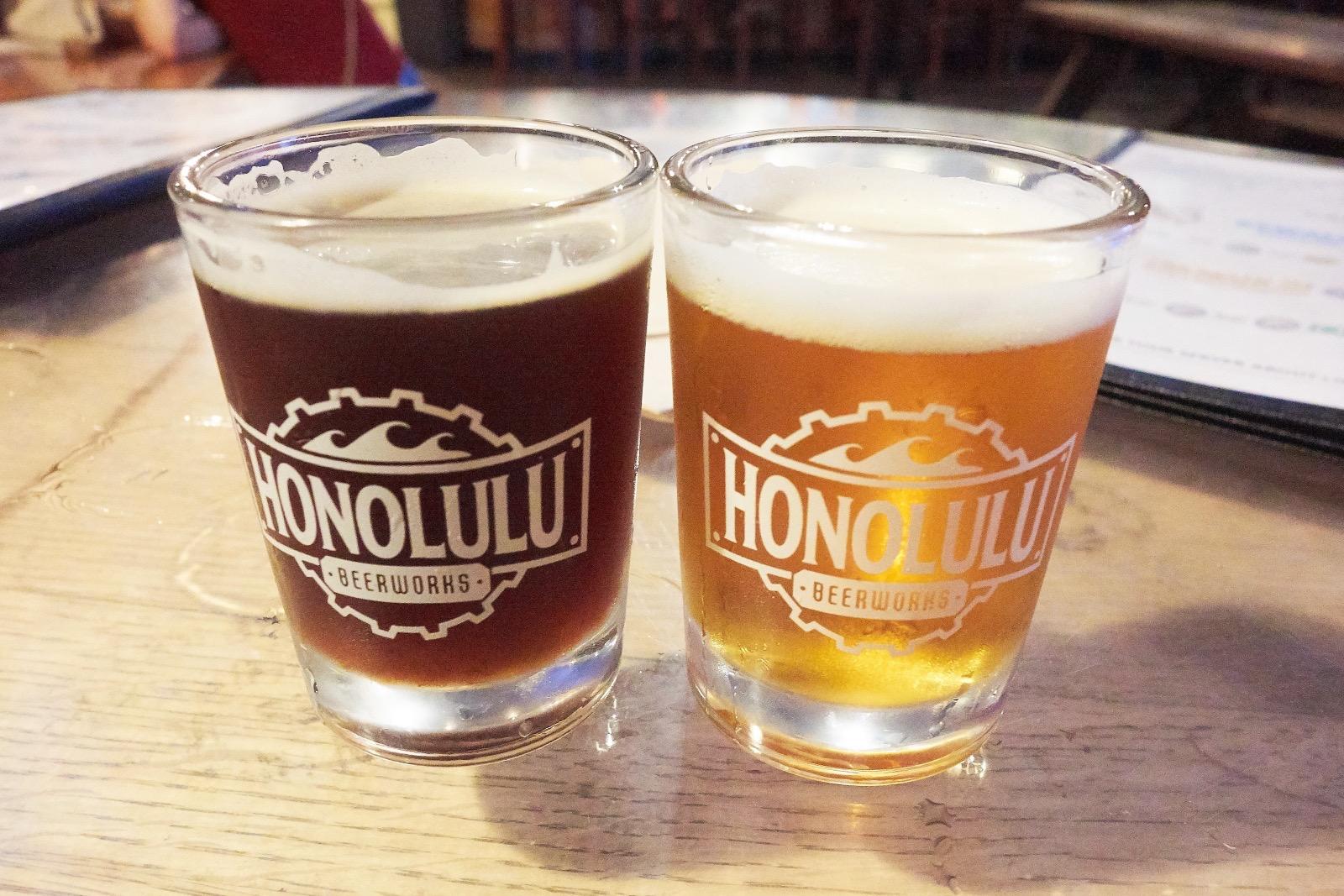 ホノルル・ビア・ワークス ビール