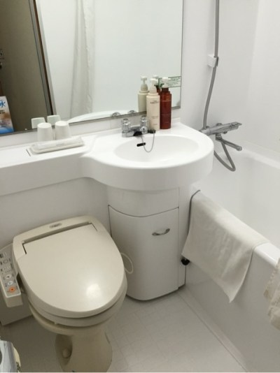 スーパーホテルLOHAS熊本天然温泉 バス・トイレ