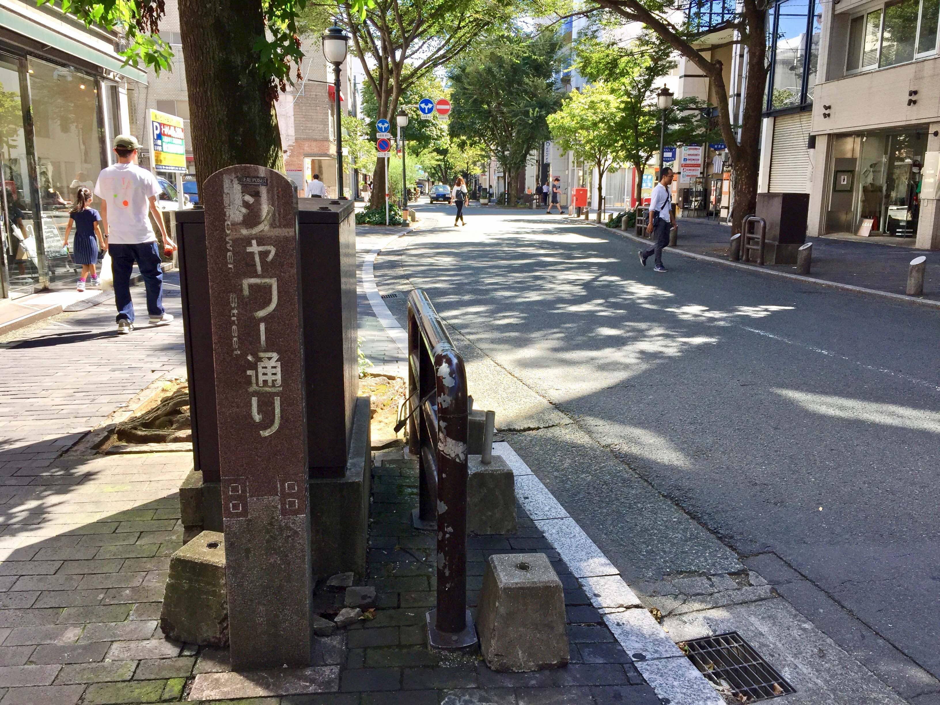 シャワ-通り