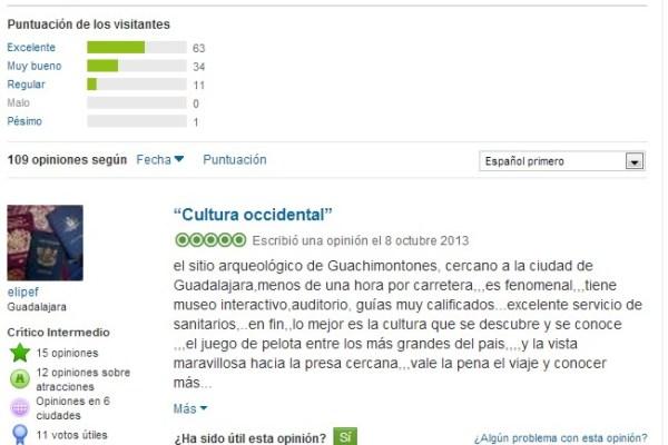 Opiniones sobre Guachimontones en Tripadvisor