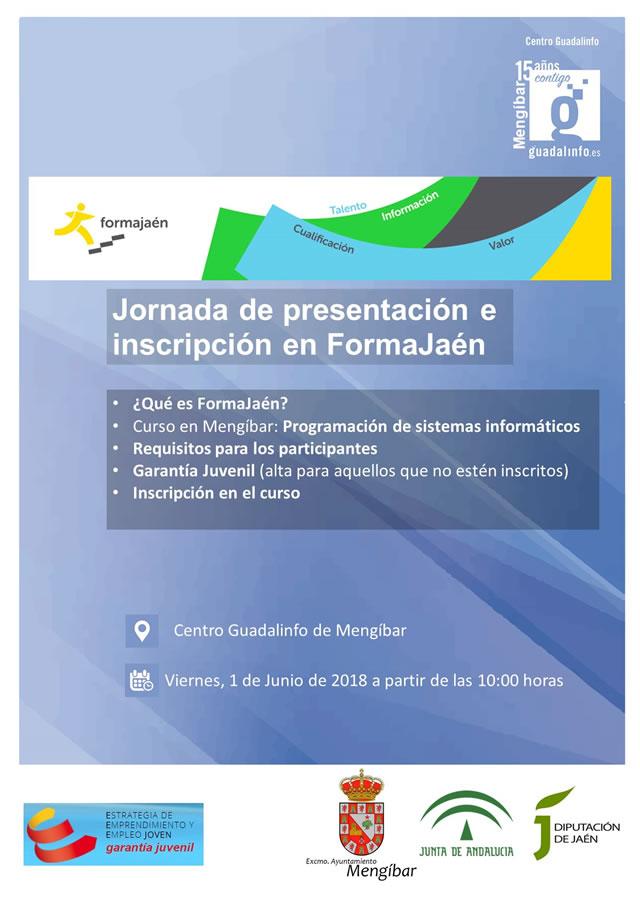 Curso de programación de sistemas informáticos en Mengíbar. FormaJaen