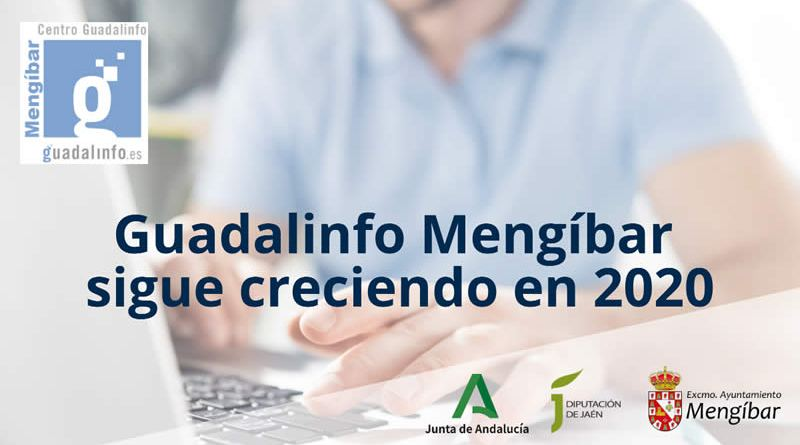 Guadalinfo Mengíbar sigue creciendo en 2020