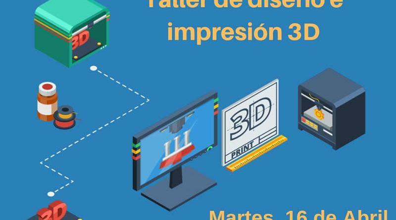 Taller de diseño e Impresión 3D en Mengíbar