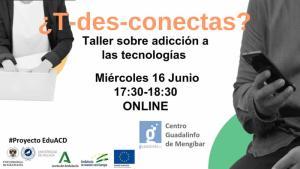 Taller sobre adicción a internet en Mengíbar