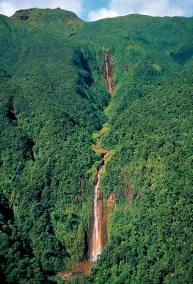 Chutes du Carbet les îles Guadeloupe