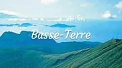 Site naturel Basse-Terre les îles de Guadeloupe