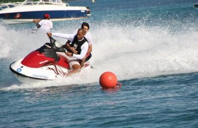 Jet ski dans les Îles de Guadeloupe