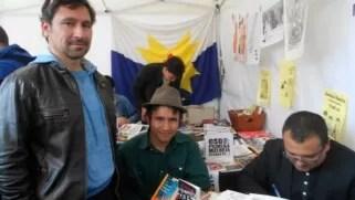 Con los grandes Emiliano Navarrete y José Luis Flores